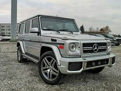 używany Mercedes G500 5dm 296KM 2003r. 141 900km