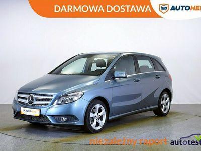 używany Mercedes B180 DARMOWA DOSTAWA, LED, Klima, Bluetooth, Hist.serwisowa W246 (2011-)