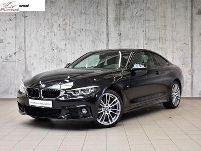 używany BMW 430 430 2dm3 252KM 2018r. 6 760km i xDrive Coupé|Wyświetlacz Head-Up|Salon Inchcape Poznań