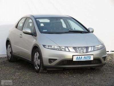 używany Honda Civic VIII Salon Polska, Serwis ASO, Klimatronic, Parktronic