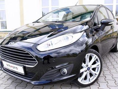 używany Ford Fiesta VIII TITANIUM/Klimatronic/ Parktronic/FuLOpcja/Serwisowany/Bezwyp/GWARANC