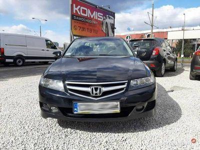 """używany Honda Accord VII Salon PL 2xkoła, ALU 17"""", BEZWYPADKOWY, bdb stan,klima, czujniki,h"""