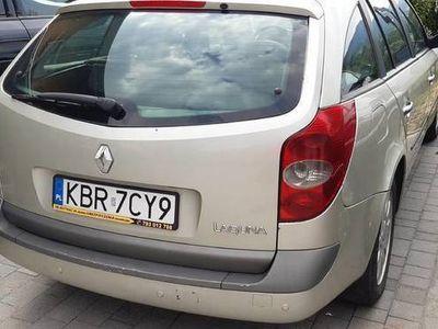 używany Renault Laguna II 1.9dci klimatronic