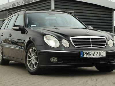 używany Mercedes E320 3dm 224KM 2006r. 261 000km