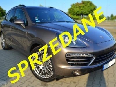 używany Porsche Cayenne II Diesel V6 /pneumatyka/wentylacja/komforty/KRAJOWY