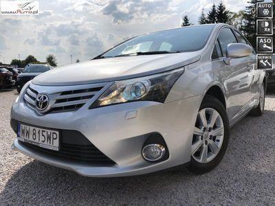 używany Toyota Avensis 2.0dm3 143KM 2014r. 150 000km Salon PL,F.Vat 23%,Serwis ASO,Gwarancja