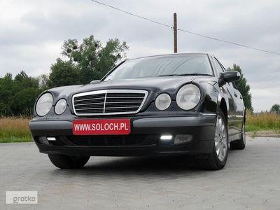 używany Mercedes 240 Klasa E W2102.6 V6 170KM Classic Gaz LPG Stag 300-6 Sedan -FILM VIDEO +Koła