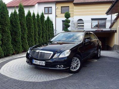 używany Mercedes E200 1.8dm 184KM 2010r. 125 000km