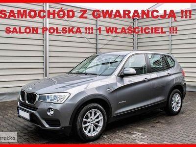 używany BMW X3 II (F25) X DRIVE + Automat + Salon PL + 1 Wł + Serwis !!!