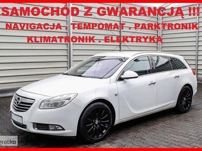używany Opel Insignia COSMO + 160 KM + Navigacja + Skóra + Tempomat + Parktronik + Klimatr, Leszno