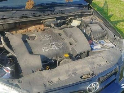 używany Toyota Corolla powypadkowa