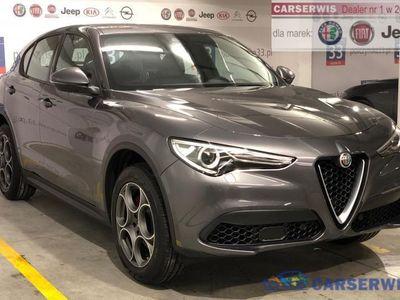 używany Alfa Romeo Stelvio 2dm3 280KM 2019r. 2km Executive 2.0 280KM | Grafitowy VESUVIO / Czarna skóra | 2019