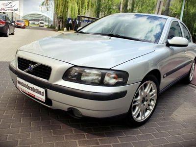 używany Volvo S60 2.4dm3 200KM 2001r. 264 000km 2.4 T Benzyna 200KM!! Manual*Skóra*Alufelgi*Klima!