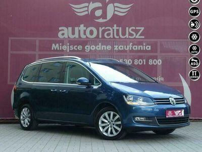 używany VW Sharan FV 23% /Aut. DSG /Szklany Dach/Skóry/El. Drzwi/Radar/ HIGHLINE II (2010-)
