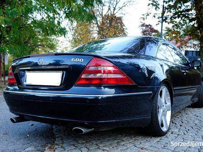 używany Mercedes CL600 V12 Unikat! Piękny klasyk! Zamiana!