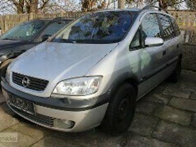 używany Opel Zafira A 2,2 D 125 KM Klimatyzacja