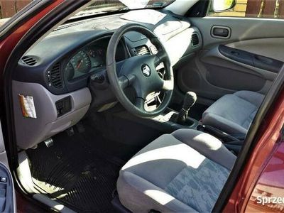 używany Nissan Almera 1.8 2002r klima,rzetelny opis