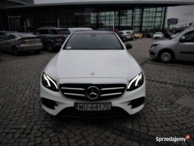 używany Mercedes E220 4MATIC AMG Gwarancja, salon PL, vat23%