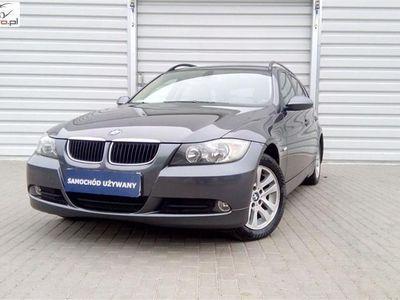 używany BMW 502 seria 3 2.0dm3 122KM 2007r.000km Piękne E91 / Nawigacja / Jasne Skóry