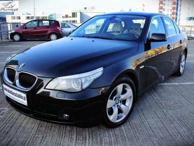 używany BMW 520 2dm3 163KM 2007r. 215 000km 2.0Diesel 163KM!! Automat*Skóra*Xenon*Navi*Os. prywatna!