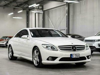 używany Mercedes CL500 5.5dm 388KM 2007r. 89 000km