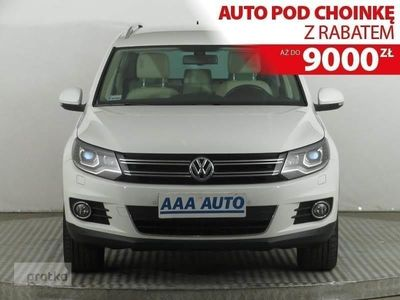 używany VW Tiguan  Salon Polska, Serwis ASO, 4X4, DSG, Skóra, Navi, Xenon,
