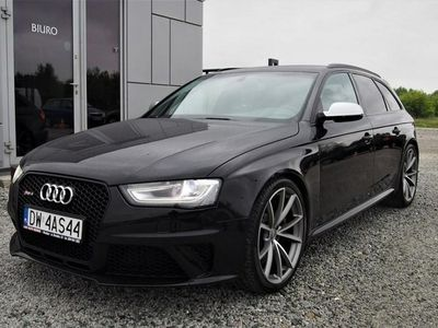 używany Audi RS4 III (B8) 4.2 V8 450KM 2014r 89tys. km. Quattro, S-Tronic, Bi-xenon + LED, FV2
