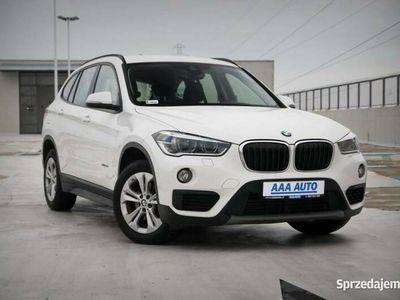 używany BMW X1 F48 Salon Polska, 1. Właściciel, Serwis ASO, Automat, VAT 23%,