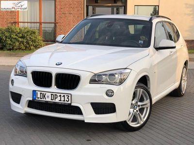 używany BMW X1 2dm3 184KM 2014r. 99 890km M Pakiet sDrive Xenon Led Navi Alcantara 98 tys.km !!!