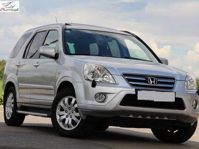 used Honda CR-V 2.2dm3 140KM 2006r. 224 255km 140KM Skóry Szyberdach Klima 4x4 Progi Niemcy