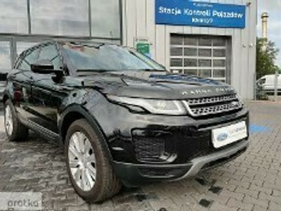 używany Land Rover Range Rover evoque 2dm 180KM 2018r. 47 000km