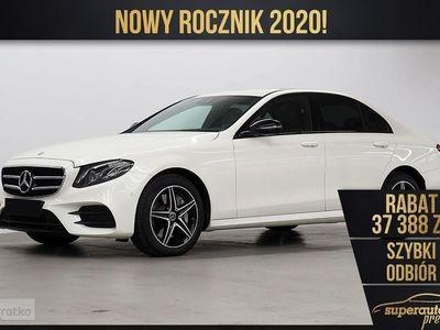 używany Mercedes 220 Klasa E W213 2.04MATIC (194KM) | AMG + Advantage + Burmester + Kamera 360, Chorzów