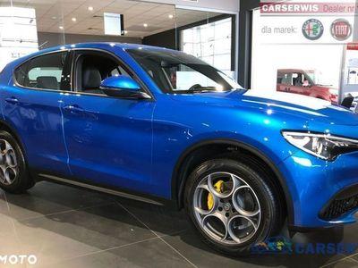 używany Alfa Romeo Stelvio 2dm3 280KM 2019r. 2km Executive 2.0 280KM | Niebieski MONTE CARLO / Czarna skóra | 2019