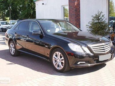 brugt Mercedes 220 Klasa E W212CDI 170KM klimatronic, NAVI, podgrz.fotele, kamera cofania