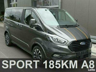 używany Ford Custom TourneoSport Tourneo 185KM A8 Aktywny Tempomat Park Assist rata 1701zł