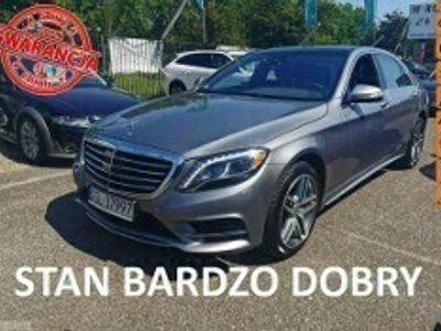 używany Mercedes S550 Klasa S W222LONG 4MATIC 481 KM, Panorama, Kamera 360, Masaże, LED, Navi, TE