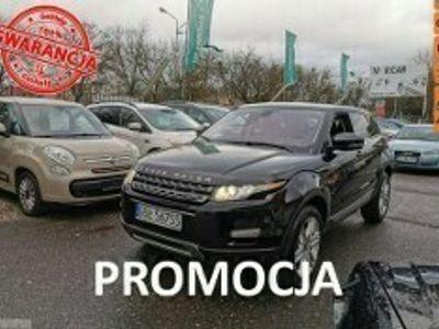 używany Land Rover Range Rover evoque 2.0 Turbo Benzyna 240 KM, Automat, Kamera, Bluetooth, Klima, Alu, 4x