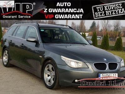 używany BMW 214 seria 5 2.5dm3 170KM 2005r.000km 2,5b+gaz DUDKI 11 2 kluczyki,aut,navi,klimatr,temp,panorama,alu,GWARAN