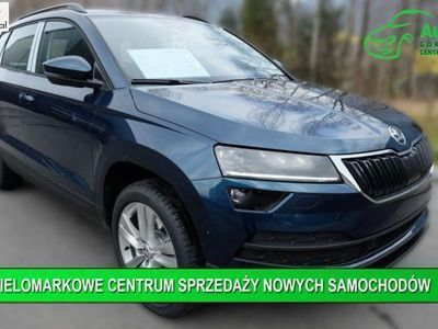 used Skoda Karoq 1dm3 115KM 2019r. km Ambition 1.0 TSI 115 KM+Czujniki Parkowania+Podgrzewane Fotele