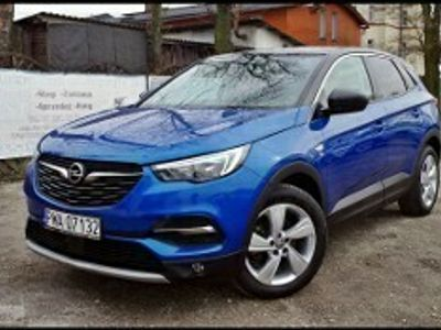 używany Opel Grandland X 1.2T Led Kamera Tempomat Grip Control Serwis Alu
