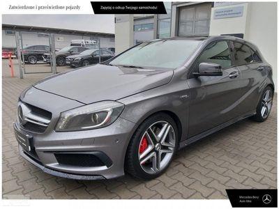 używany Mercedes A45 AMG Klasa A W176Salon PL Faktura VAT 360 KM 4x4