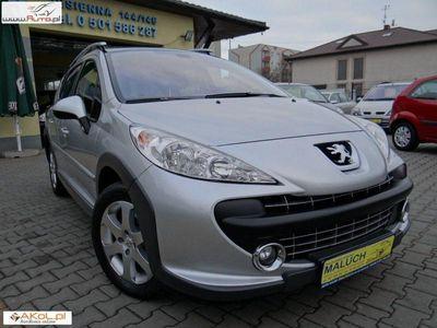 używany Peugeot 207 Outdoor SW 1.6 HDI-SW panorama pół 1.6 2008r. automatyczna klima.