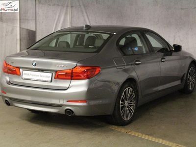 używany BMW 520 seria 5 2dm3 190KM 2018r. 29 407km D 190KM | Sport Line | Navi! | Łopatki |