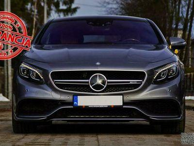 używany Mercedes S63 AMG AMG Coupe 4Matic - Swarovski - MA WSZYSTKO - Gwarancja Raty Zamiana W222 (2013-)