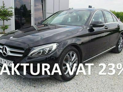 używany Mercedes C180 1.6 156KM 2017r. 70tys. km. FV23%, Navi, Skóry, LED, 9G-Tronic W205 (2014-)