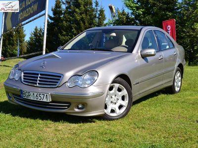 używany Mercedes C220 2.2dm3 150KM 2005r. 269 731km 2.2 CDI ELEGANCE POLECAM.