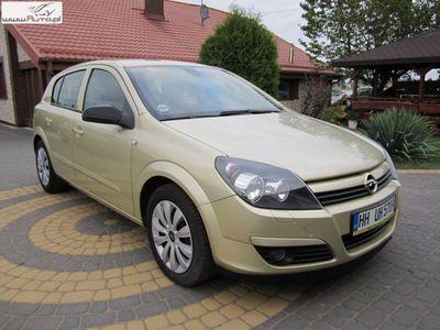 używany Opel Astra 1.6dm3 105KM 2004r. 153 535km 1,6 b KLIMA stan b.dobry przygotowany do rej.opłacony