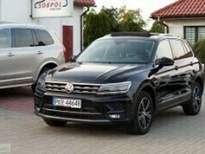 używany VW Tiguan II 2,0 TDI 150KM 4Motion DSG HIGHLINE panorama, Zarejestrowany