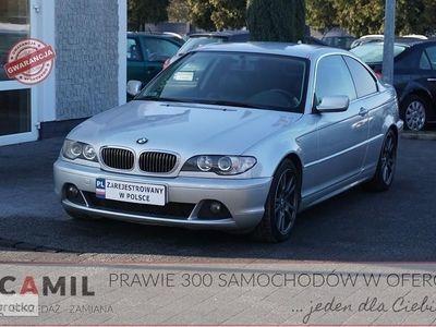 używany BMW 330 SERIA 3 IV (E46) 330 COUPE, CD 204KM, Manual, Zadbany, Zarejestrowany, Ubezpiecz
