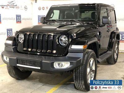 używany Jeep Wrangler 2.2dm3 200KM 2018r. 2km JL Sahara 2.2 200KM Diesel | NOWY MODEL | Czarny / Czarna skóra
